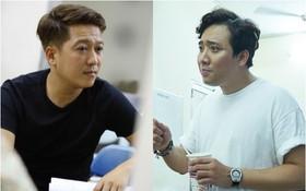 Trấn Thành, Trường Giang lộ vẻ ngoài chưa makeup, cùng dàn sao Vbiz tập luyện xuyên đêm cho liveshow Chí Tài