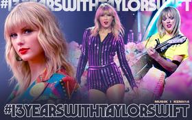 Cái tên Taylor Swift đã xuất hiện trên làng nhạc thế giới được 13 năm và đây là 13 cột mốc lớn trong sự nghiệp khiến ai ai cũng phải trầm trồ