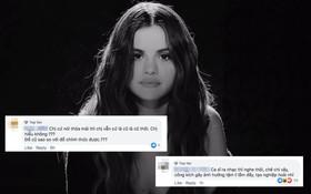 """Selena Gomez bị công kích nặng nề, mang tiếng """"hám fame"""" vợ chồng Justin Bieber khi ra mắt ca khúc hát về tình cũ"""