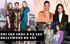 Khi sao châu Á và Hollywood đọ sắc cùng khung hình: Jennie (BLACKPINK) lép vế trước Rihanna, Dương Mịch quá đẳng cấp bên Kendall