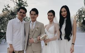 Chạy show chúc mừng Mie, Helly Tống vẫn ám ảnh chuyện bị quăng xuống hồ tới 20 lần ở siêu đám cưới Đông Nhi - Ông Cao Thắng