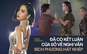 """Kết luận cuối cùng của Sở Văn hóa Thể thao Quảng Ninh: """"Bích Phương hát thật nhưng theo quy định hiện hành là chưa đúng"""""""