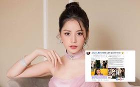 """Chi Pu lên tiếng về status bị nghi liên quan tới Gil Lê và Hoàng Thùy Linh: """"Mình đọc mà mình tức á"""""""