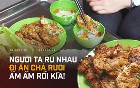 """""""Món rán giòn và đầy những con sâu"""" của Hà Nội lên hẳn báo Pháp, mùa này người ta lại ồ ạt rủ nhau đi ăn rồi, bạn đã thử món chả rươi này chưa?"""