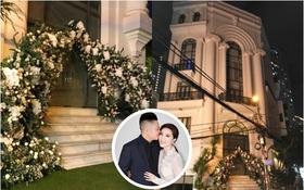 Trước giờ G đám cưới Bảo Thy: Biệt thự siêu to nhà cô dâu đóng kín, đã chuẩn bị hoa trang trí cho ngày hạnh phúc!