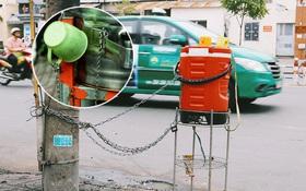 Chuyện dây xích quấn quanh những bình nước miễn phí: Sài Gòn dễ thương, nhưng muốn thương phải chịu khó!