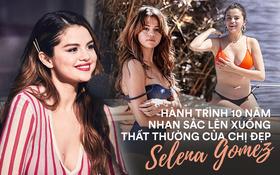 Nhan sắc Selena Gomez 10 năm qua: Lên cân vẫn gây bão, xuống cân xinh bội phần, giờ đây đúng là đỉnh cao!