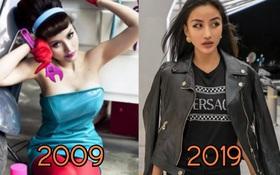 """Nhan sắc cựu hot girl Sài Gòn - Meo Meo sau một thập kỷ: Trước sau gì cũng đẹp, nhưng xét độ kiêu kì """"chanh sả"""" thì bây giờ ăn đứt!"""