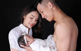 Vợ Bùi Tiến Dũng tiết lộ: Sinh con trong tình trạng nguy hiểm, chồng ôm hoa chạy bộ 12 tầng vì lo không được gặp vợ đầu tiên sau sinh