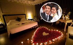Hơn 1 tuần sau lễ cưới, Đông Nhi - Ông Cao Thắng hé lộ phòng tân hôn cực lãng mạn tại resort 5 sao Phú Quốc