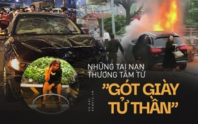 Nhìn lại những nữ tài xế lái ô tô gây tai nạn thương tâm, nhiều người rút ra thông điệp: Không cao gót, không sai sót chân ga!