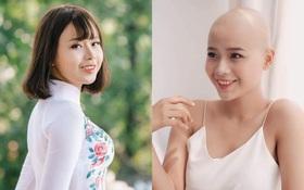 Nữ sinh Ngoại thương mắc ung thư đẹp rạng ngời trong tà áo dài trắng, sẵn sàng chinh phục ngôi vị Hoa khôi