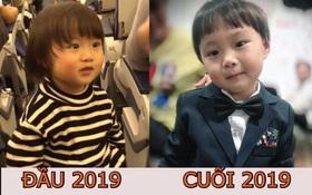 So với lần về Việt Nam trước, bé Sa giờ đã rất chững chạc và càng ngày càng đẹp trai đấy mẹ Quỳnh Trần JP ơi!