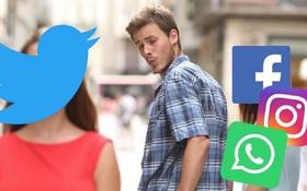 """Dân mạng thế giới làm gì khi Facebook """"sập"""": Rục rịch chuyển nhà sang Twitter, nhấm nháp ít meme cho đời vui vẻ!"""