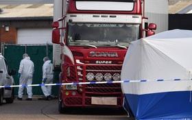Bộ Công an: 39 thi thể trong xe container ở Anh đều là người Việt Nam