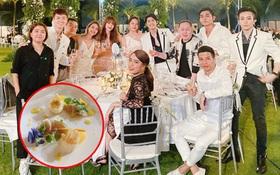 Lướt nhẹ giá nguyên liệu để làm tiệc cưới Đông Nhi - Ông Cao Thắng mà chóng mặt: Toàn tiền triệu trở lên, có món tới gần 10 triệu/ kg