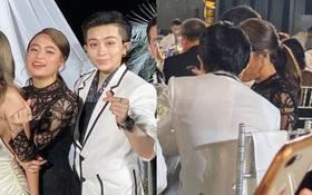 Gil Lê và Hoàng Thùy Linh công khai sánh đôi, kề sát vai cực tình trong lễ cưới Đông Nhi - Ông Cao Thắng