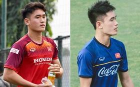 """Huỳnh Tấn Sinh - nam thần thế hệ mới của U22 Việt Nam: Cao 1m82 với gương mặt visual, gì chứ """"múi"""" thì anh không thiếu"""