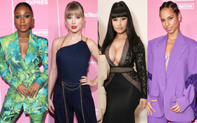 """Thảm hồng Billboard: Taylor Swift bị Nicki Minaj """"xôi thịt"""" lấn át, Billie Eilish style quá lạ bên dàn sao nữ quyền lực"""