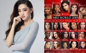 Missosology tung BXH cuối cùng trước thềm chung kết Miss World, tiết lộ lý do không đưa Lương Thùy Linh vào Top 5