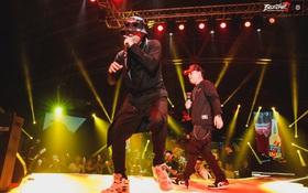 """Beck'Stage Unexpected Rap Fest: LK và Young Uno làm sống lại cả thanh xuân với 2 bản hit """"Tuyết Yêu Thương"""" và """"Cơn Mưa Qua"""""""