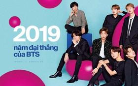 """Nhìn lại 1 năm đại thắng của BTS: Lên ngôi """"ông hoàng"""" với duy nhất 1 album, scandal không thể quật đổ ngai vàng Kpop"""