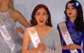 Trực tiếp chung kết Miss World: Lương Thùy Linh lọt Top 12 cùng dàn đối thủ cực mạnh, bắn tiếng Anh như gió trên sân khấu