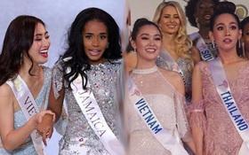 Góc trùng hợp ngỡ ngàng: Loạt mỹ nhân quốc tế nắm tay đại diện Việt Nam đều đã đăng quang Hoa hậu