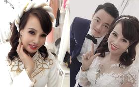 """Sau khi """"tân trang"""" nhan sắc, cô dâu 62 tuổi cùng chồng đi chụp lại ảnh cưới để... hâm nóng tình cảm"""