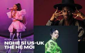 """Làng nhạc thế giới chứng kiến sự """"đổi ngôi"""" ấn tượng của ngôi sao thế hệ mới: Ariana Grande, Billie Eilish hay Lizzo, Lil Nas X liệu có đủ sức kế thừa?"""