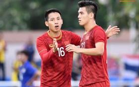 [Chung kết SEA Games 30] Việt Nam 0-0 Indonesia (H1): Song sát Tiến Linh - Đức Chinh, thủ thành Văn Toản bắt chính