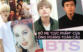 """Choáng với bố mẹ của """"ông hoàng toàn cầu"""" BTS: Ai cũng đẹp xuất sắc, mẹ Jin đi thi Hoa hậu, bố là CEO"""