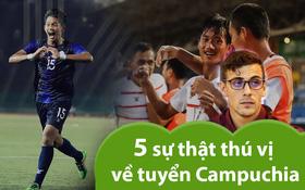 5 sự thật cực thú vị về đội tuyển Campuchia: Có HLV trưởng đẹp trai như tài tử, được gặp Việt Nam ở bán kết SEA Games đã là chiến tích lịch sử