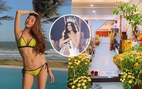 """Gia thế """"không phải dạng vừa"""" Khánh Vân - Tân Hoa hậu Hoàn vũ Việt Nam: Sở hữu căn hộ hoành tráng, du lịch sang chảnh chẳng kém cạnh ai!"""