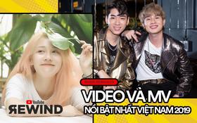 """10 MV thịnh hành nhất Youtube Việt Nam 2019: Jack & K-ICM vượt Sơn Tùng M-TP, Hương Ly nắm tay Hậu Hoàng """"thống trị"""" mặt trận riêng"""