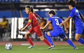 [Trực tiếp chung kết bóng đá nữ] Việt Nam 0-0 Thái Lan: Nguyễn Thị Vạn dứt điểm trúng xà ngang