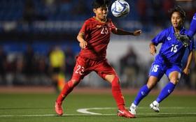 [Trực tiếp chung kết bóng đá nữ] Việt Nam 0-0 Thái Lan: Đội bạn bị tước một bàn thắng