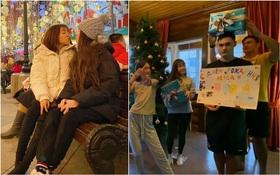 Yến Xuân qua Nga ra mắt, cùng gia đình Lâm Tây trang trí Noel: Ra dáng người một nhà lắm rồi nhé!