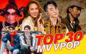 """Top 30 MV có lượt xem cao nhất Youtube của 2019: Jack và K-ICM """"bao vây"""" chặt Sơn Tùng, Mỹ Tâm và Đen Vâu """"sương sương"""" cũng lọt top"""