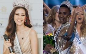 Đăng quang cách nhau 1 ngày nhưng Miss Universe 2019 và Hoa hậu Khánh Vân lại có điểm trùng hợp đến ngỡ ngàng