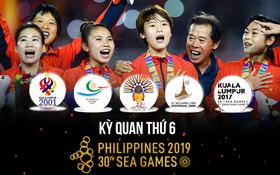 Đội tuyển nữ Việt Nam và kì quan thứ Sáu