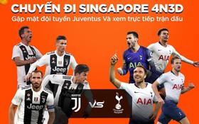 """Vừa thông báo tặng vé gặp BlackPink, Shopee lại """"chơi lớn"""" tặng 4 suất sang Singapore xem MU, Inter, Juve, Tottenham tại giải ICC"""
