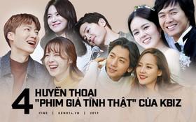 """4 cặp """"phim giả tình thật"""" được fan ghép đôi thành công: Song - Song vừa li hôn, nàng cỏ Goo Hye Sun đã tiếp bước?"""