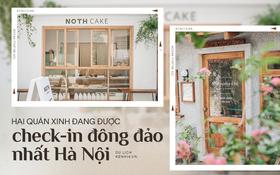 """Hai quán nước ép và tiệm bánh mới toanh ở Hà Nội, liền kề nhau tạo thành hẻm """"sống ảo"""" xinh xẻo như bên Hàn"""