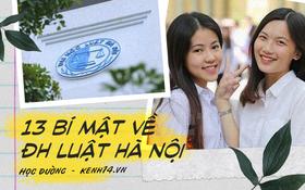 """Review cực gắt về Đại học luật Hà Nội: Trường là """"lò cãi thuê""""? Ký túc xá xịn sò đến đâu? Trường có trai xinh gái đẹp không?"""