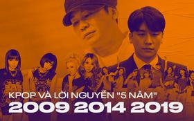 Lời nguyền mới của Kpop: Cứ 5 năm 1 lần lại xảy ra những biến động lớn, từ làm nên kỷ nguyên idol đến loạt scandal rúng động toàn Châu Á