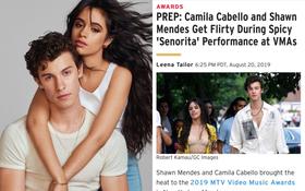 """Chỉ là sự cố hay chiêu trò PR: Shawn Mendes và Camila Cabello còn chưa biểu diễn đã bị lộ kịch bản """"chim chuột"""" tại VMAs 2019"""