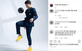"""Làm KOL """"duyên"""" như Bùi Tiến Dũng: đang hợp tác với adidas nhưng khoe ảnh đi Nike rồi xóa logo lem nhem"""