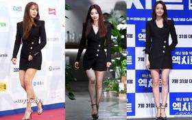 """Ca đụng hàng """"gắt"""" nhất Kbiz: Suzy, Yoona, Yoon Eun Hye cùng diện một mẫu váy, cô nào trông cũng như nữ thừa kế nhà tài phiệt"""