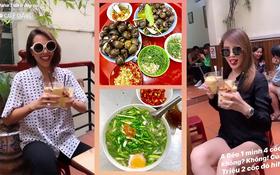 """Lâu lâu mới ra Hà Nội, Kỳ Duyên đi ăn liền 4 món chuẩn """"combo mùa thu thủ đô"""", ai cũng nên thử 1 lần nè!"""